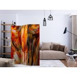 Room Divider Ocean of Fire (135 x 172 cm)