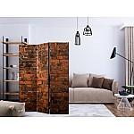 Room Divider Old Brick Wall (135 x 172 cm)
