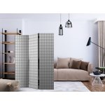 Room Divider  Dogtooth Check (135 x 172 cm)
