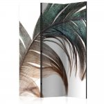 Room Divider Beautiful Feather (135 x 172 cm)