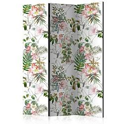 "Room Divider ""Beautiful Garden"" (135 x 172 cm)"