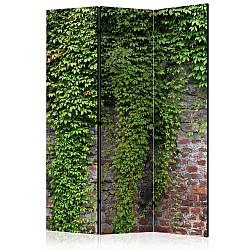 "Room Divider ""Brick and ivy"" (135 x 172 cm)"