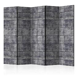 "Room Divider "" Concrete Fortress II"" (225 x 172 cm)"