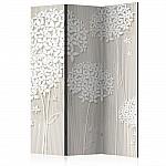 Room Divider Creamy Daintiness (135 x 172 cm)