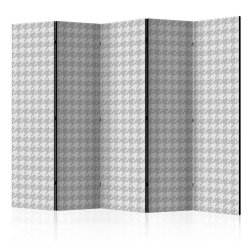 """Room Divider """" Dogtooth Check II"""" (225 x 172 cm)"""