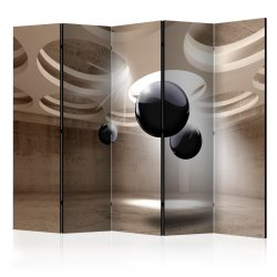"Room Divider "" Geometric Glare II"" (225 x 172 cm)"