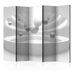 """Room Divider """" Temple of the Future II"""" (225 x 172 cm)"""