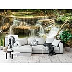 Wallpaper Mural Cascade Waterfall