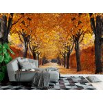 Wallpaper Mural Autumn Alley