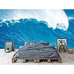 Wallpaper Mural Beautiful Blue Ocean Wave (11928288)