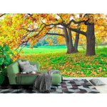 Wall mural autumn tree