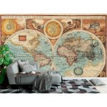Wallpaper Mural Featuring an Old Map From 1626 (17237806)