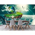 Photo wall mural vessel earth