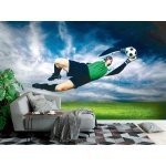 Wall Mural Football Goalkeeper in Action (24222098)