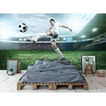 Wall Mural Soccer Player With Ball in Action (26658985)