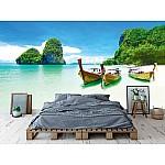 Wallpaper Mural Beauty Beach  and Limestone Rocks (28101453)