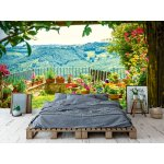 Wallpaper Mural Beautiful Old Town in Central Italy (28852046)