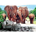 Wallpaper Mural A Herd of Elephants (29885303)