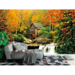Photo wall mural glades grist mill