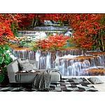 Wallpaper Mural Waterfall In Deep Rain Forest