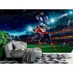 Wall Mural American Football Player in Action (33845011)
