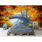 Wallpaper Mural Autumn Forest