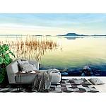Wallpaper Mural Beautiful Sunset at Lake Balaton (hungary)