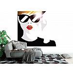 Photo wall mural fashion  teenage girl