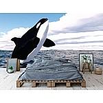 Wallpaper Mural Jumping Killer Whale (65352165)