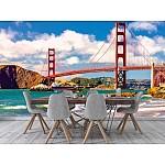 Wallpaper Mural Golden Gate Bridge in San Francisco at Sunset (66146895)