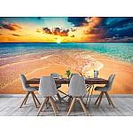 Wall mural tropical beach