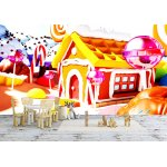 Wallpaper Mural Candy Land (77240141)