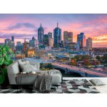 Wallpaper Mural Melbourne City Skyline