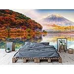 Wallpaper Mural Fuji Mount In Autumn