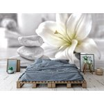 Wallpaper Mural Beautiful Spa Composition on Wooden Table (94074641)