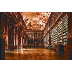 Wallpaper Mural Old Library (109240430)