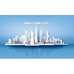 Photo wall mural new York city skyscrapers