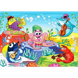 Wall mural orchestra in the sea