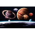 Wall mural planets of the solar system