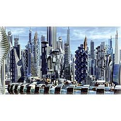 Wallpaper Mural Science Fiction City (31360199)