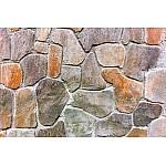 Wall mural stone wall