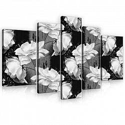 Canvas Art Set Flowers 170 x 100 cm (PS10030S4A)