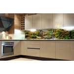 Kitchen Splashback Yellow Taxi