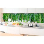 Kitchen Splashback Birch Grow