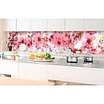 Kitchen Splashback Apple Blossom
