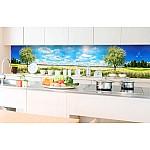 Kitchen Splashback Blossom Tree