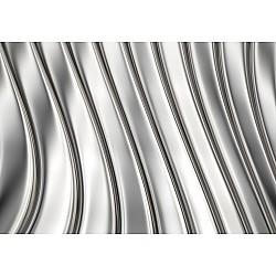 Wallpaper Mural Metal Strips (375 x 250 cm)