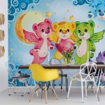 Care Bears Photo Wallpaper Mural (10156VE)
