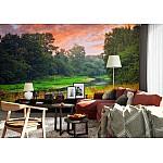 Wallpaper Mural Sunset River (928)