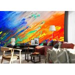 Wallpaper Mural Abstract Painting (973)